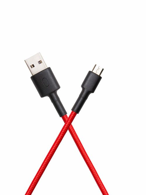 MI BRAIDED USB CABLE RED